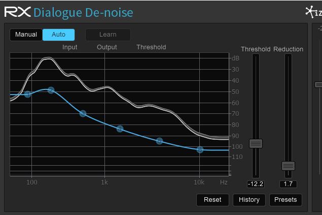 Dialogue De-noise