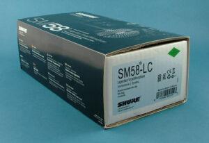 Fake SM58 box