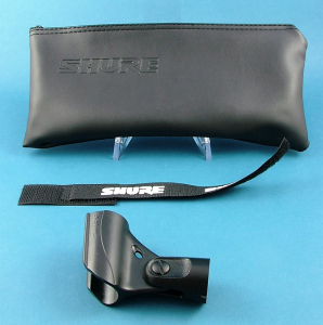 Real SM57 bag and clip