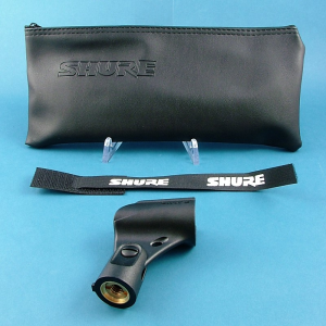 Real SM58 bag and clip